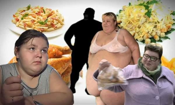 Ожиревшие люди