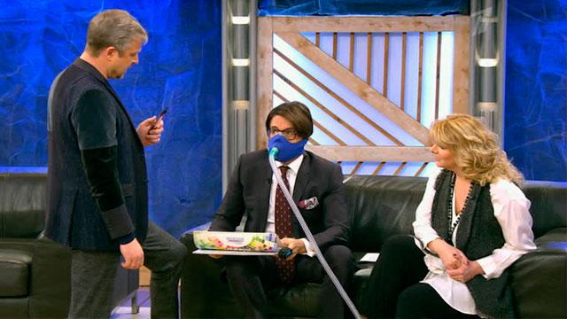 """Пельш лишил Малахова кислорода в студии """"Пусть говорят"""": """"Дыши плотненько, не поддыхивай!"""""""